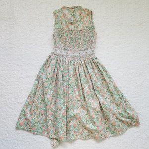 Other - Vintage Style Floral Dress for Girls
